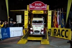 Salida Rally Montecalo histórico 2020