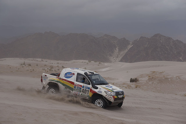 Joan Rubín en el Dakar 2016
