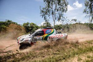 Dakar 2017 en Acción a mitad de tramo