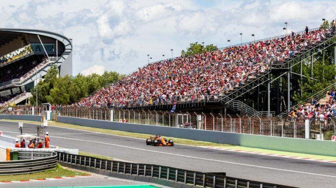 Salida de Boxes F1 2017